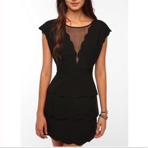 Coincidence & Chance Urban Outfitters black dress
